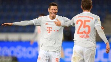 Photo of Bundesliga: Lewandowski, Mueller doubles send Bayern second with Bielefeld win