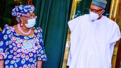 Photo of Buhart, Okonjo-Iweala meet over WTO DG job [Photos]