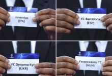 Photo of Champions League draw: Manchester United face PSG, Ronaldo meets Messi