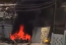 Photo of Hoodlums set Police station ablaze in Lagos (Video)