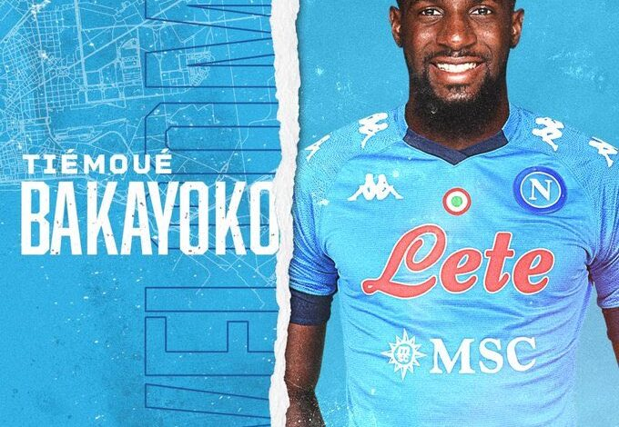 Photo of Tiemoue Bakayoko joins Napoli on loan from Chelsea