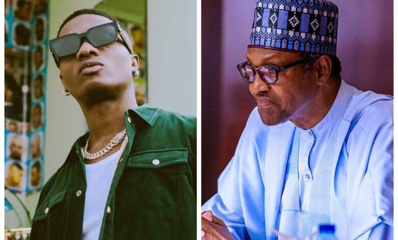 WizKid and Buhari