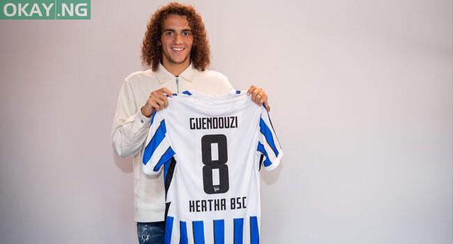 Photo of Matteo Guendouzi joins German side Hertha Berlin on loan from Arsenal