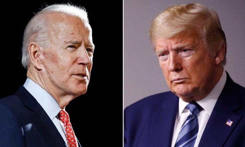 Biden and Trump