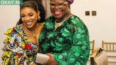 Iyabo Ojo and her mother, Victoria Olubunmi Fetuga