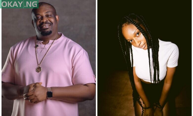 Don Jazzy and Ayra Starr