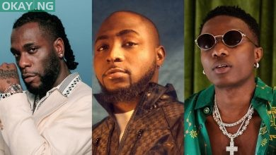 Burna Boy, Davido and Wizkid