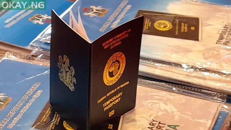 Nigerian Temporary Passport (NTP)