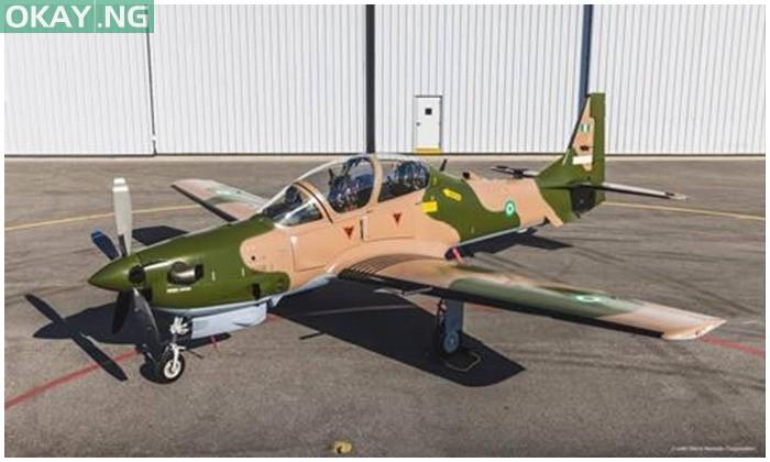 Super Tucano aircraft