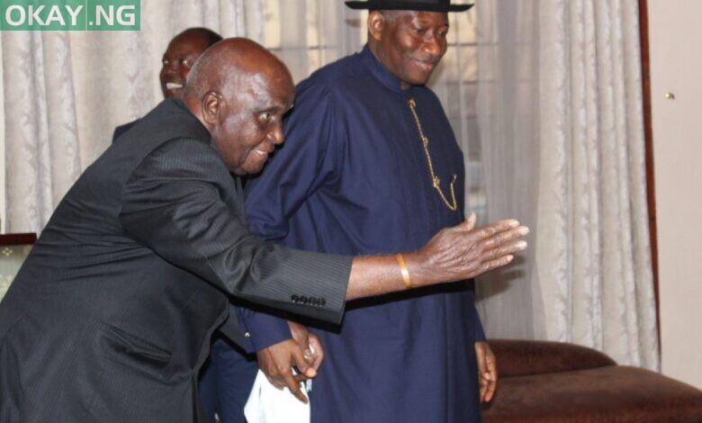 Goodluck Jonathan and late Kenneth Kaunda