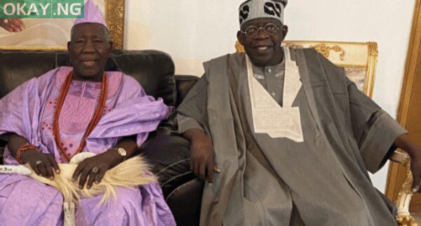 Olubadan of Ibadanland and Asiwaju Bola Tinubu