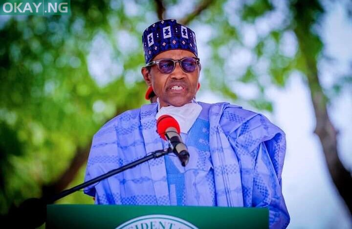 President Muhammadu Buhari in Borno State