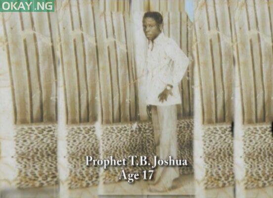 TB Joshua at age 17