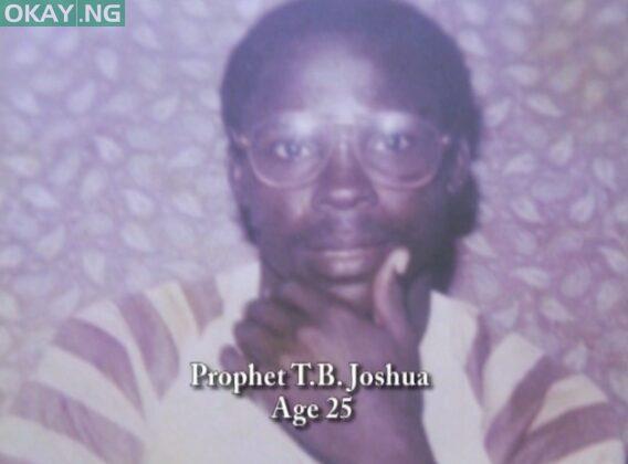 TB Joshua at age 25