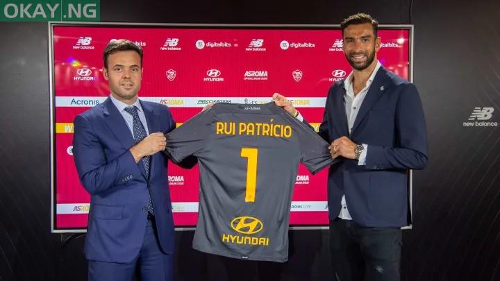 Rui Patricio signs for AS Roma