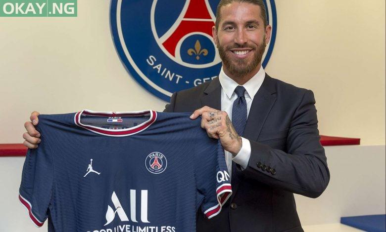 Sergio Ramos completes move to PSG
