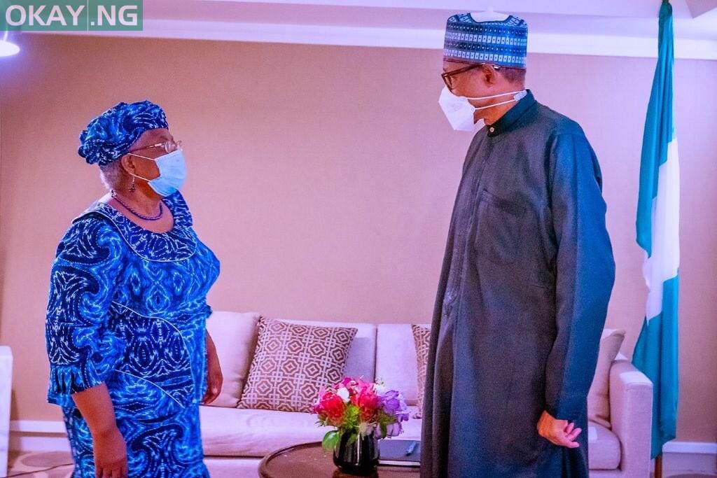 President Muhammadu Buhari President met with Ngozi Okonjo-Iweala in New York