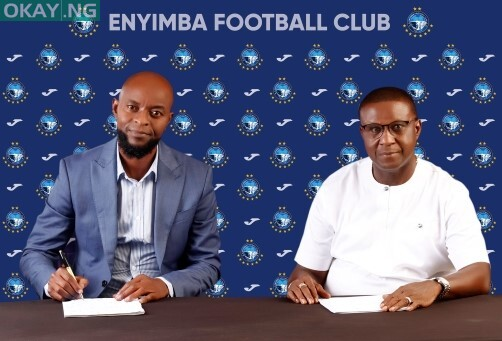 Finidi George appointed as Enyimba FC head coach