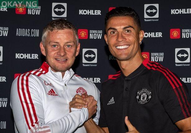 Solskjaer and Ronaldo