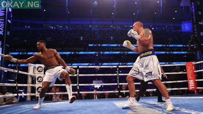 Oleksandr Usyk defeats Anthony Joshua