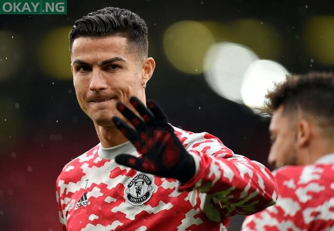 Cristiano Ronaldo was not in the starting team for Manchester United's match against Everton