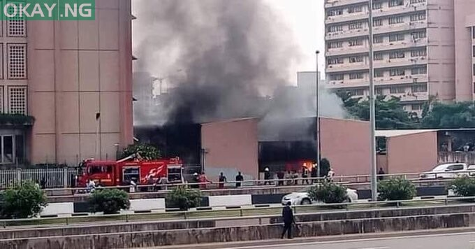 Fire guts section of Federal Secretariat in Abuja